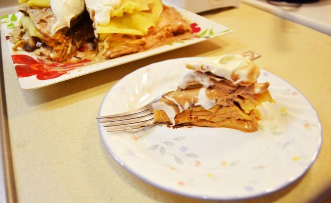 nutella crepe cake 2